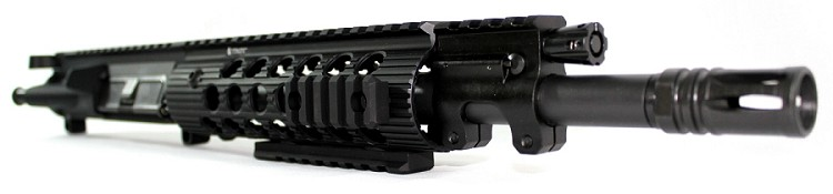 "5.56 C.A.P.S. 11"" Piston Upper with Troy Alpha Handguard"