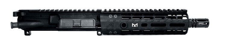 "8"" 300BLK Complete Low Profile Piston Upper with Aero Precision 7"" M-Lok Handguard"