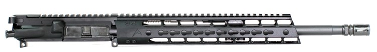 "5.56x45 Low Profile Mid-Length Piston Upper with Rainier Arms 12"" Force Keymod Handguard"