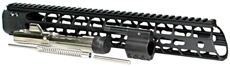 "5.56x45 Low Profile Carbine Piston Conversion with 12"" Rainier Arms Force Keymod Rail"