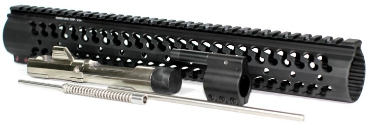 "5.56x45 Low Profile Rifle Length Piston Conversion with 15"" Samson Evolution Rail"