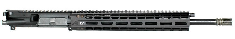 7.62x39 L.P.R. Mid-Length Piston Upper with A.P. M-Lok Handguard