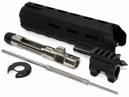 5.45x39 Spartan Mid-Length Piston Conversion with Magpul MOE M-Lok Handguard