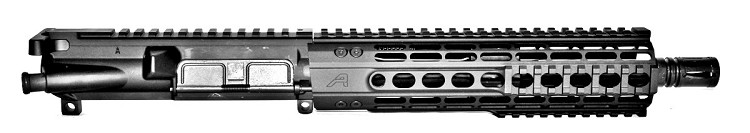 "10"" 300BLK Complete Low Profile Piston Upper with Aero Precision 9"" Quad Handguard"
