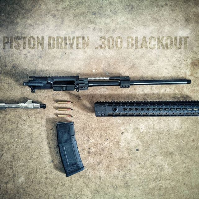 300BLK Piston Upper
