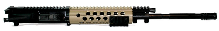5.56x45 C.A.P.S. Carbine Piston Upper with Troy FDE Alpha Handguard