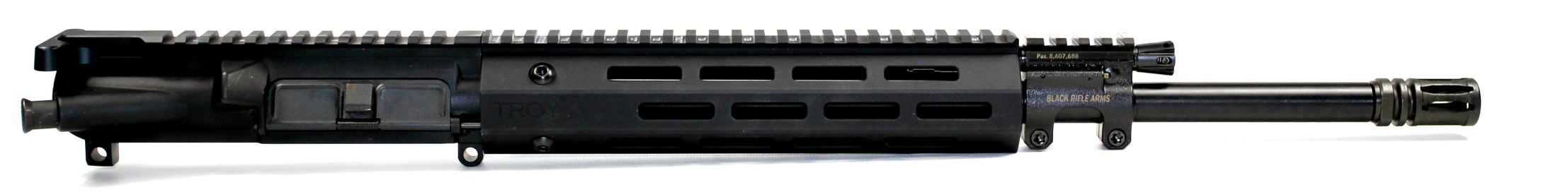 5.56x45 C.A.P.S. Mid-Length Piston Upper with Troy M-Lok Handguard with Chrome Line Barrel