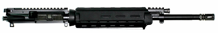 5.56x45 C.A.P.S. Mid-Length Piston Upper with Magpul MOE M-Lok Handguard