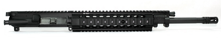 5.56x45 C.A.P.S. Mid-Length Piston Upper with Troy Bravo Handguard