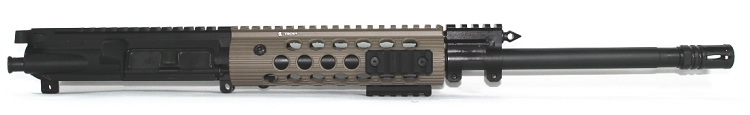 7.62x39 Spartan Carbine Piston Upper with Troy FDE Alpha Handguard