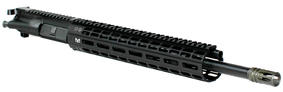 5.56 LOW PRO REGULATED Mid-Length Piston Upper with A.P. M-Lok Handguard, LPR, L.P.R.l
