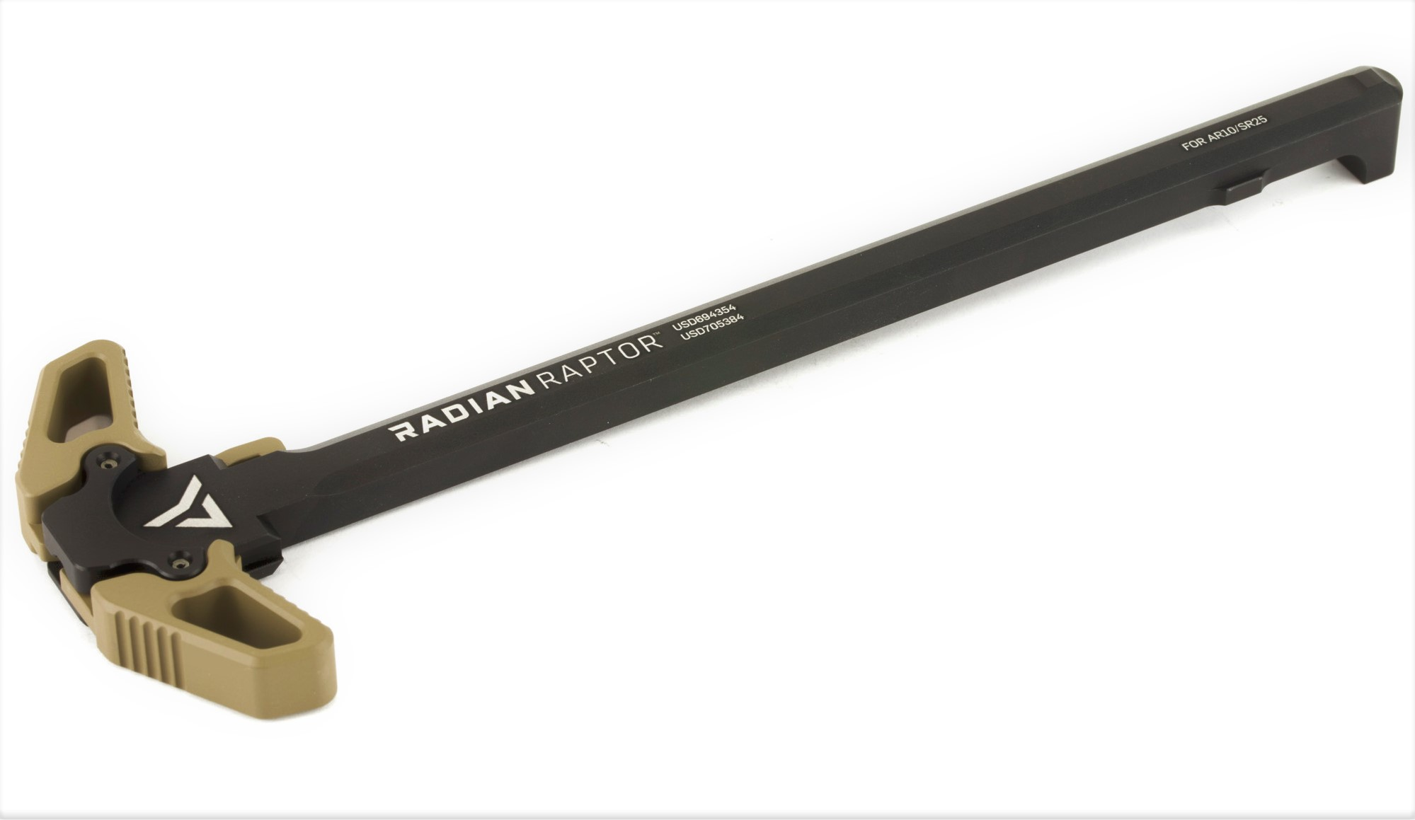 AR10 / SR25 / .308 RADIAN RAPTOR AMBI CHARGING HANDLE - FDE