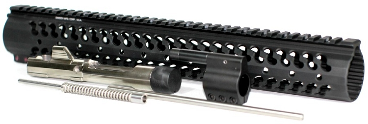 Low Profile Rifle Length Piston Conversion with 15