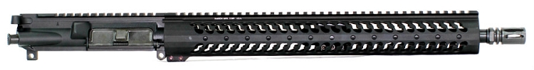 7.62x39 Low Profile Mid-Length Piston Upper with Samson 15