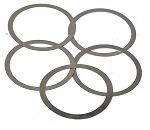 AR-15 Barrel Nut Shims 5-Pack