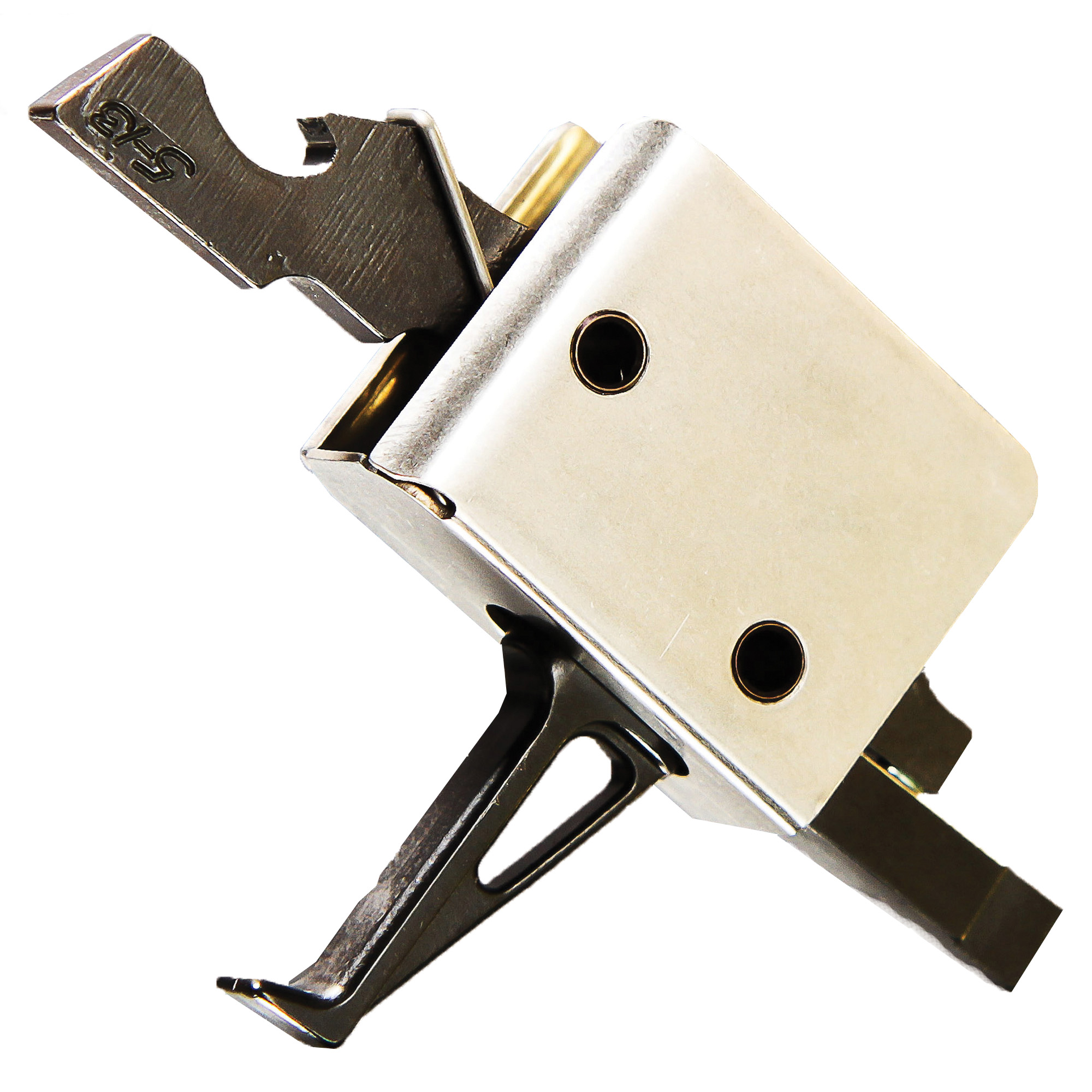 CMC AR-15/AR-10 Drop-In Single Stage Match Grade 2.5 lb Flat Trigger, Small Pin