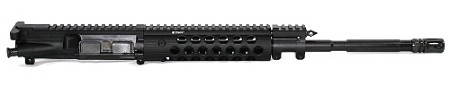 5.56x45 Spartan Carbine Piston Upper with Troy Alpha Handguard