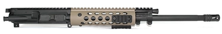 7.62x39 C.A.P.S. Carbine Piston Upper with Troy FDE Alpha Handguard