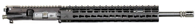 5.56x45 Low Profile Mid-Length Piston Upper with Aero Precision 12